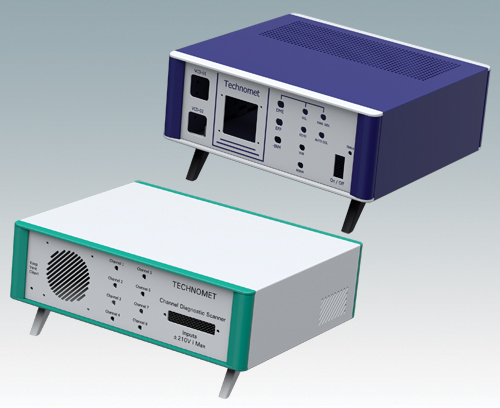 Instrument enclosures in custom colours
