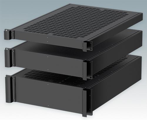 """Sehr tiefe 24"""" (610 mm) Versionen für Computer-Server-Racks"""