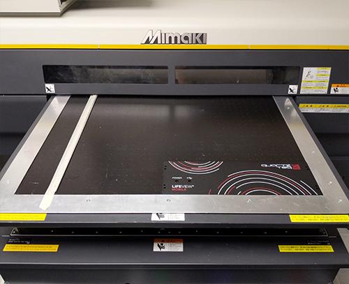 Eigener A2-Flachbett-Digitaldruck.