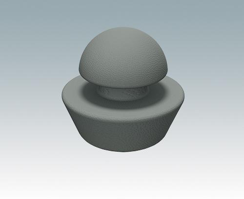 M5403002 Gummi-Füß