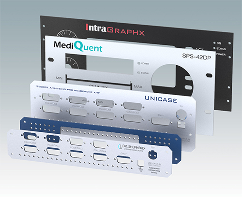 Kundenspezifische Frontplatten.