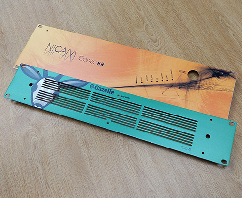 Kundenspezifische 19-Zoll Frontplatten